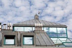 окна tinplate крыши Стоковые Изображения RF