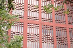 Окна Woodcarving Стоковая Фотография