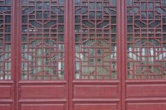 Окна Woodcarving Стоковое фото RF