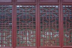 Окна Woodcarving Стоковые Фотографии RF