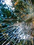 Окно аварии Стоковые Фотографии RF