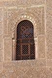 Окно Альгамбра Гранада Испания Стоковое Изображение RF
