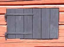 окно амбара старое деревянное Стоковое фото RF