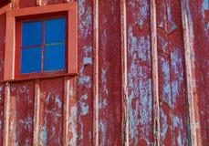 окно амбара старое Стоковые Фотографии RF