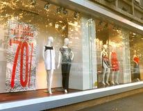 Окно бутика стоковая фотография rf