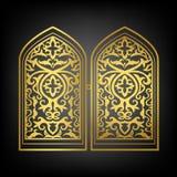 Окно вектора исламское бесплатная иллюстрация