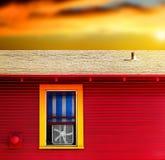 окно вентилятора Стоковые Фото