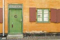 окно двери старое Стоковые Фотографии RF