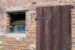 окно двери старое Стоковое фото RF