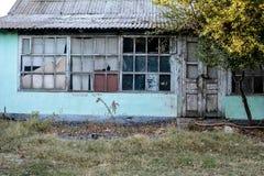 окно двери старое Стоковая Фотография RF