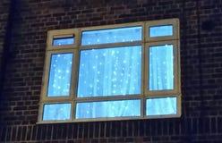 окно версии растра иллюстрации рождества Стоковое Изображение
