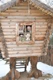 окно взгляда семьи счастливое Стоковое Изображение