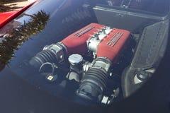 Окно двигателя задней части Феррари Стоковое Фото