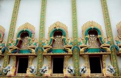 Окно виска Будды Стоковое Изображение