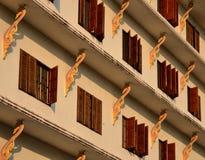 Окно виска Чиангмая Стоковая Фотография RF