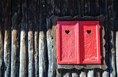 окно влюбленности Стоковая Фотография RF