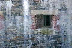 окно выдержанное клеткой Стоковые Изображения RF