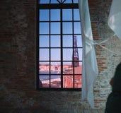 Окно в Венеции стоковое изображение rf