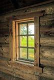 Окно в историческом здании 3 Стоковая Фотография RF