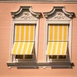Окно в квадратном формате Стоковое Изображение