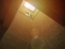 Окно в крыше крыши в новом музее в Берлине стоковое фото