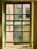 Окно в старом здании Стоковое Изображение RF