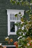 Окно в autum стоковые фотографии rf