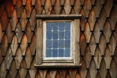 Окно гонта встряхивания Стоковое Изображение