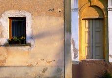 окно двери Стоковая Фотография