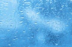 окно дождя падений Стоковая Фотография RF