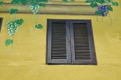 Окно деревянное Стоковые Изображения RF