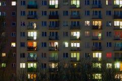 Окно жилого квартала Стоковая Фотография