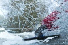окно замерли автомобилем, котор Стоковые Изображения