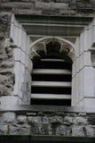 Окно замка Rochester в Англии Великобритании Стоковое Фото