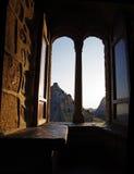 окно замока стоковая фотография rf