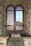 окно замока Стоковое фото RF