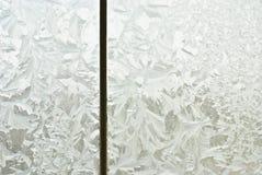 окно заморозка стоковое изображение rf