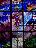 окно запятнанное стеклом Стоковая Фотография RF