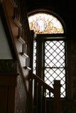 окно запятнанное стеклом Стоковые Изображения