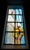 окно запятнанное стеклом Стоковые Фото