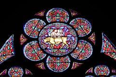 окно запятнанное стеклом Стоковое Фото
