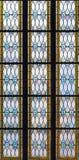 4 окно запятнанное стеклами Стоковые Фотографии RF