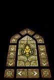 4 окно запятнанное стеклами Стоковое Изображение RF