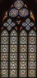 4 окно запятнанное стеклами Стоковые Изображения