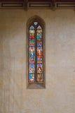 4 окно запятнанное стеклами Стоковая Фотография RF