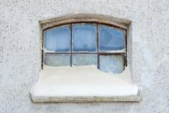 Окно зимы Стоковое Фото
