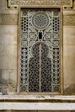 окно зодчества Аравии исламское Стоковое фото RF