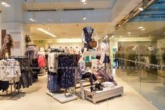 Окно дисплея бутика, Сингапур, 9-ое октября 2014 Стоковая Фотография RF