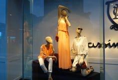 Окно дисплея магазина моды Стоковые Фотографии RF