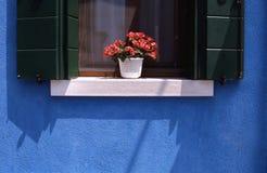 окно Италии Стоковая Фотография RF